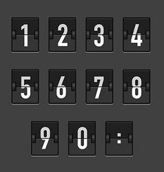 Abstractblackretroscoreboard vector