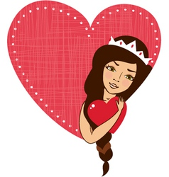 Valentines cartoon vector