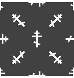 Crucifix pattern vector
