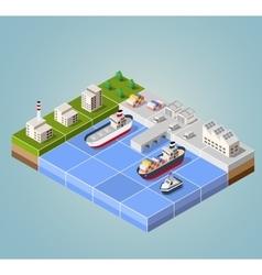 Seaport vector