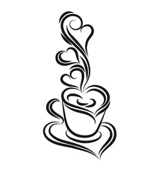 Coffee graphic vector