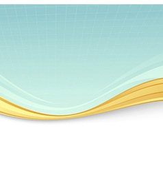 Abstract background with metal border divider vector