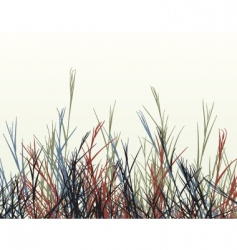 Rough grass vector