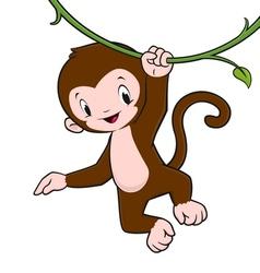 Cartoon monkey vector