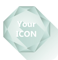 Diamond base for your logo vector