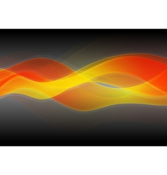 Wavy backdrop vector