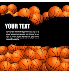 Balls background vector