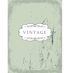 Scrathed vintage background vector
