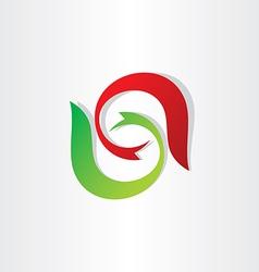 Letter s stylyzed symbol design vector