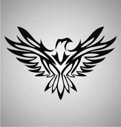 Tribal eagle vector