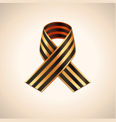 Ribbon of saint george vector