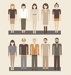Office people vector