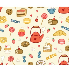 Party sweets and treats vector
