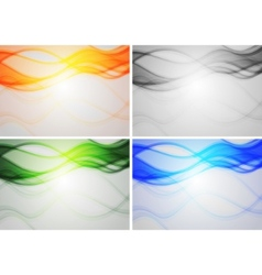 Vibrant backdrops vector