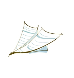 Iconpaperplane vector