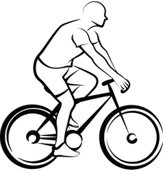 Simple with a bicycler vector