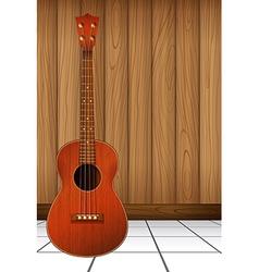 A guitar vector