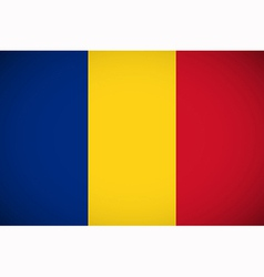 National flag of romania vector