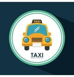 Taxi icon vector