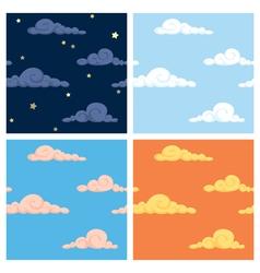 Sky patterns vector