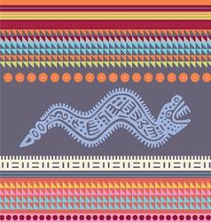 Ornamental african style motive 02 vector