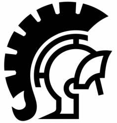Medieval knight icon vector