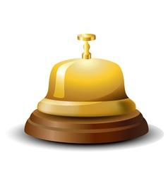 Reception bell vector