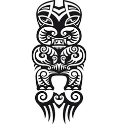 Taniwha tattoo design vector