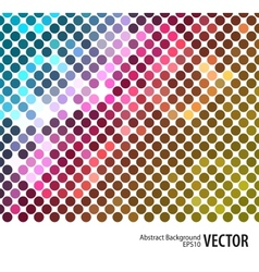 Mosaic disco background 2 vector