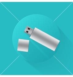Usb flash drive icon vector