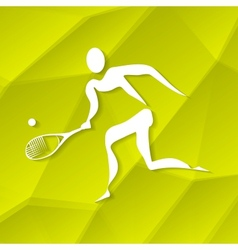 Tennis icon vector