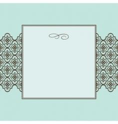 Crest frame vector