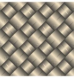 Ornate diagonal basket texture vector