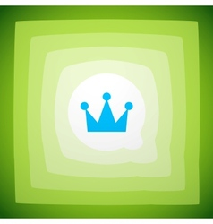 Crown creative abstract background vector