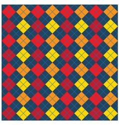 Argyle seamless pattern design vector