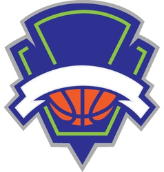 Basketball logo vector