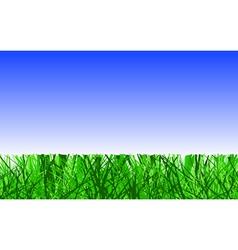 Mown lawn vector