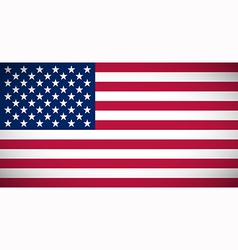 National flag of the usa vector