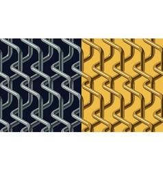 Chainlink pattern vector