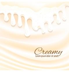 Milk splashes background vector