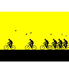 Bicycling vector