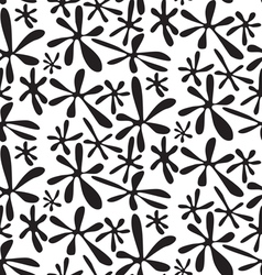 Ink spots abstract geometric seamless pattern vector