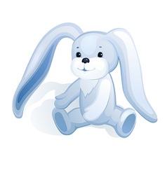 Plush bunny vector