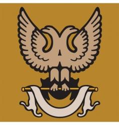 Eagle crest vector