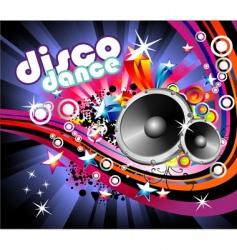 Music flyer background vector