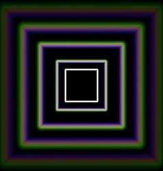 Shiny concentric squares corridor vector