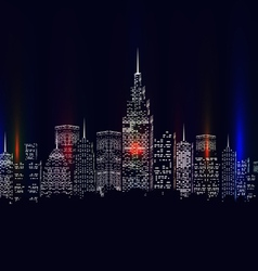 City colourful vector
