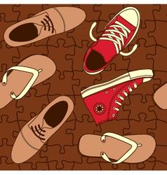 Shoe wallpaper vector