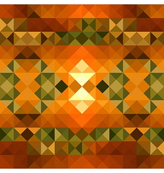 Fall season triangle seamless pattern background vector