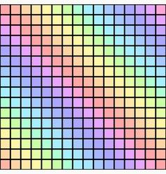 Geometric abstract seamless pattern rainbow vector